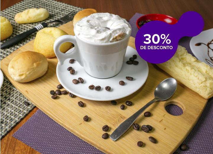Café Biano com 30% de Desconto